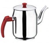 Kahveci Çay Kazanı Ocağı Demliği 3 Numara Paslanmaz Çelik