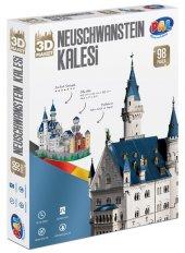 Neuschwanstein Kalesi 3d Maket 98 Parça
