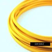2x0,50mm Açık Sarı Renkli Dekoratif Örgülü...