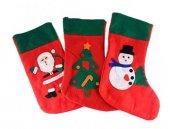 Noel Baba Hediye Çorabı Büyük Boy