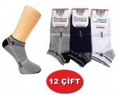 özmen Kaliteli Erkek Patik Çorap Spor Çorap 12 Çift