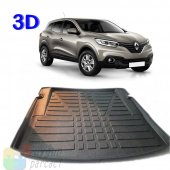 Renault Kadjar (2014 Ve Sonrası) 3d Bagaj Havuzu A Kalite (Hedi