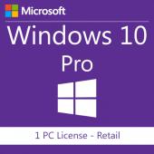 Windows 10 Pro 32 64bit Retail Lisans Anahtarı
