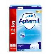 Aptamil 1 Bebek Sütü 1200 Gr Akıllı Kutu Skt 07 2020