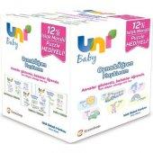 Uni Baby Oyna Öğren Islak Havlu 12 Adet