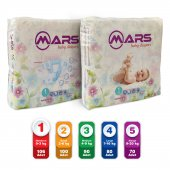 Mars Baby Bebek Bezi 1 (Newborn) 0 3 Kilo 106 Adet...