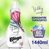 Bingo Soft Konsantre Çamaşır Yumuşatıcısı Yıldız Çiçeği 1440 Ml