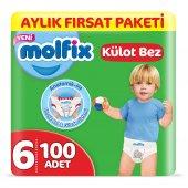 Molfix Külot Bez 6 Beden Ekstra Large Aylık Fırsat...