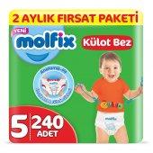 Molfix Külot Bez 5 Beden Junior 2 Aylık Fırsat Pak...