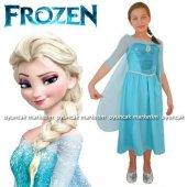Frozen Kostümü Elsa Buzlar Prensesi 2 3 Yaş