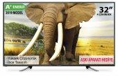 Awox 32 İnç 82 Ekran A+ Enerji Dahili Uydulu Hd Led Tv+askı Aparat