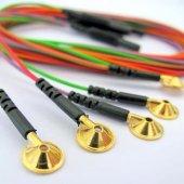Eeg Kablo Altın Uçlu Neurofeedback 10 Adet