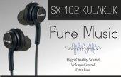 Sunix Platinum Samsung Htc Lg Huawei Pure Music Kulaklık 3.5mm