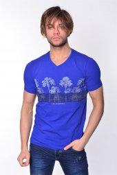 Iceboys Palmiyeli California Yazılı T Shirt
