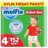 Molfix Pants Külot Bebek Bezi 4 Beden 7 14 Kg 2 Paket 152 Adet