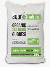 Ayan %100 Organik Katı Solucan Gübresi 20 Kg
