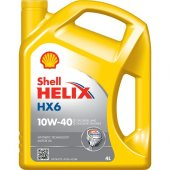 Shell Helıx Hx6 10w40 4l (Yarı Sentetik Motor Yağı) (Üretim Tarihi 2019) (Alofiltre)