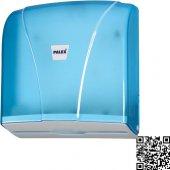 Palex 3464 1 Z Katlı Havlu Dispenseri Şeffaf Mavi