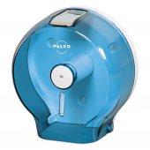 Palex 3444 1 Jumbo Tuvalet Kağıdı Dispenseri Şeffaf Mavi