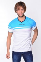 Iceboys V Yaka Garnili T Shirt