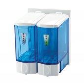 Palex 3564 0 Mini Sıvı Sabun Dispenseri 250 Ccx2 Şeffaf Mavi