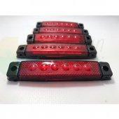 12 Volt 4lü Yan Led Sinyal Side Marker Kırmızı...