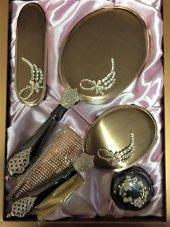 Monalisa Lux Buket Desenli Ayna Tarak Fırça Tk 277...