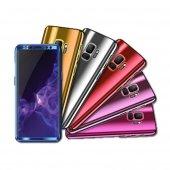 Samsung Galaxy S9 Plus 360 Aynalı Telefon Kılıfı Kapak Çift Taraf
