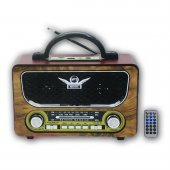 Nostaljik Radyo Bluetooth Müzik Çalar Everton Rt 805