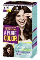 Schwarzkopf Pure Color Jel Saç Boyası 4.6 Bitter Brownıe