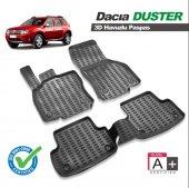 Dacia Duster 2010 Ve Sonrası 3d Siyah Havuzlu Paspas