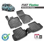 Fiat Fiorino 3d Siyah Havuzlu Paspas