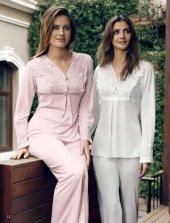 2 Li Penye Pijama Takımı 2023