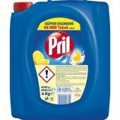 Pril Limon Kokulu Sıvı Bulaşık Deterjanı 4 Kg