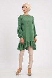 Loreen Kadın Yeşil Tunik 20148