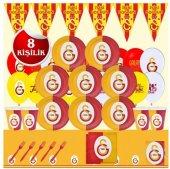 Galatasaray Cimbom Doğum Günü Parti Malzemeleri Süsleri Seti