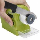 Otomatik Pilli Bıçak Bileme Aleti Swifty Sharp Çok Amaçlı Oto Bileyici Pilli Makas Çakı Makinesi
