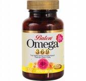 Balen Omega 3 6 9 Yağ Asitleri Yumuşak Kapsül 1585 Mg * 100 Adet