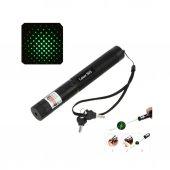Pro Yeşil Şarjlı Işık Işın Lapzer Pointer 5000 Mw 35 Km Etkili