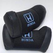 Mavi Honda Logolu Lüx Boyun Yastığı