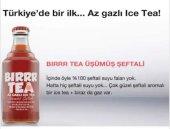 Bırr Tea Gaza Gelmiş Ice Tea Şeftali 250 Ml Cam Şişe * 6 Adet