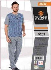 Güneş 5202 Kısa Kol Erkek Pijama Takımı