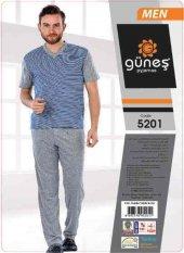Güneş 5201 Kısa Kol Erkek Pijama Takımı