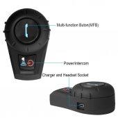 Freedconn Fdc Vb Bluetooth İnterkom Motosiklet Kask Kulaklıklığı