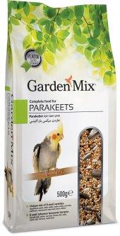 Gardenmix Platin Parakets Papağan Yemi 500 Gr (5 Adet)