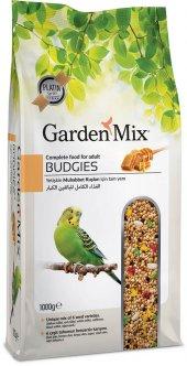 Garden Mix Platin Ballı Muhabbet Kuş Yemi 1000 Gr (10 Adet)