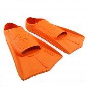 Nilsan Pool Energy Turuncu Yüzücü Paleti 39 40 Numara Plastik Kesik Yüzücü Paleti Havuz Deniz Paleti