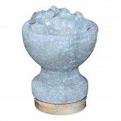 Tuz Çanak Kaya Tuzu Lambası Çankırı 1 2kg