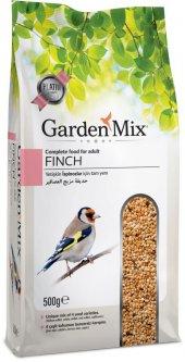 Gardenmix Platin Hint Bülbülü Finch Yemi 500 Gr (5...