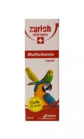 Zurich Kuşlar İçin Multivitamin 30 Ml